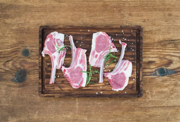 Chops Rack of Lamb With Rosemary